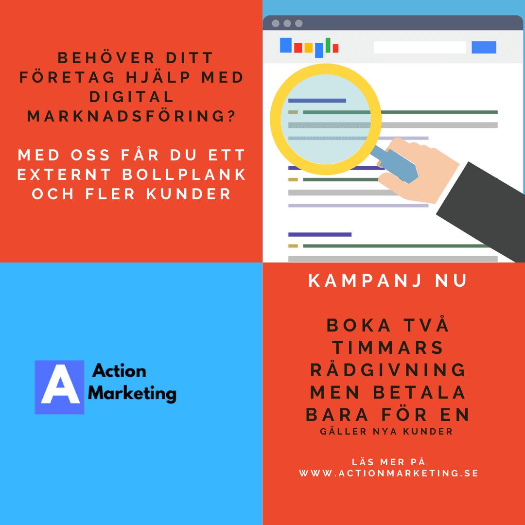 rådgivning digital marknadsföring