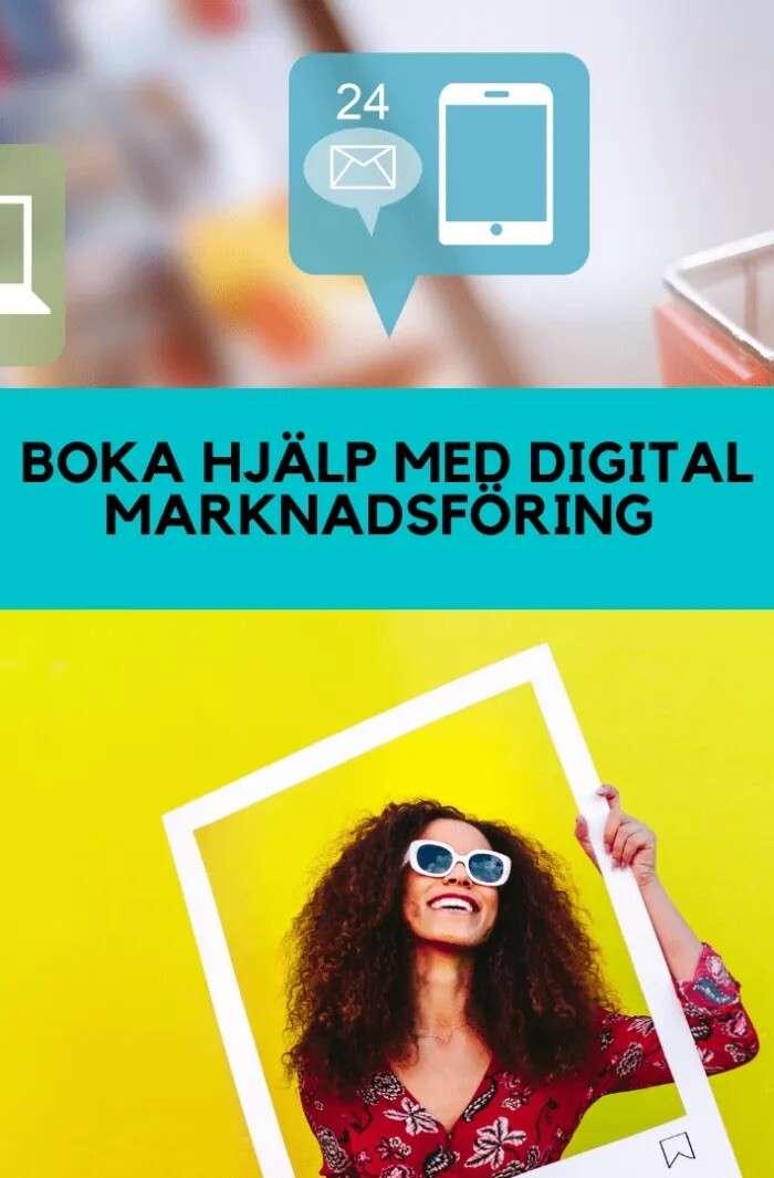 Boka rådgivning digital marknadsföring