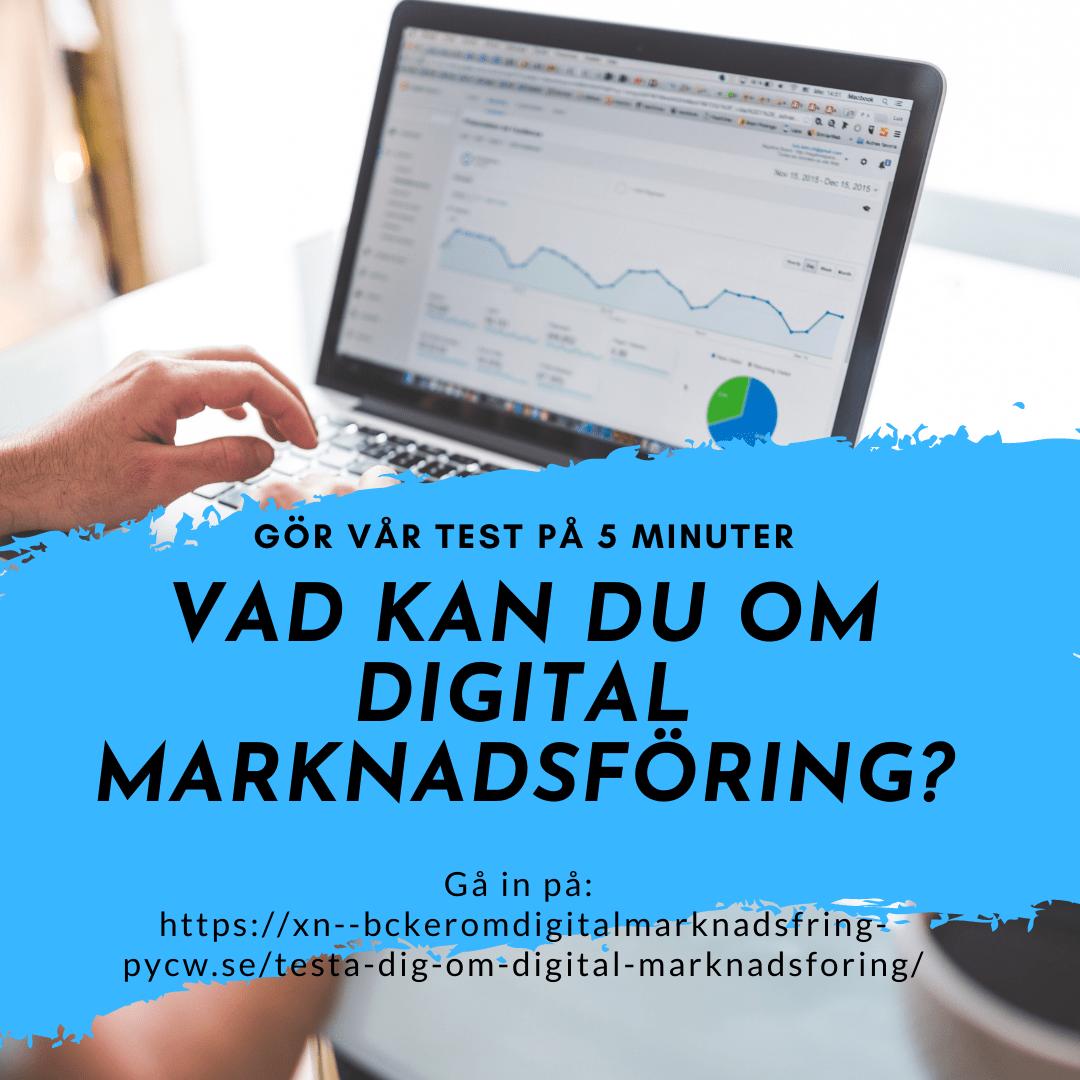 Gör test vad du kan om digital marknadsföring